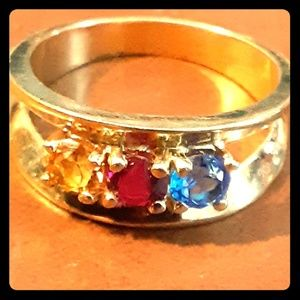 Jewled costume ring